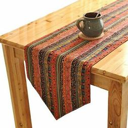 Aothpher Japanese-style table runner Wataasa red 30 * 180cm